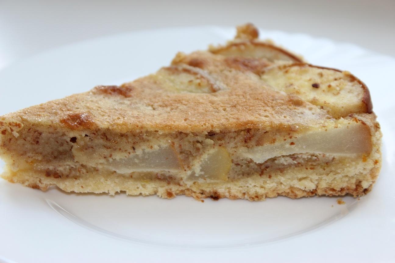 Песочный пирог с грушами рецепт