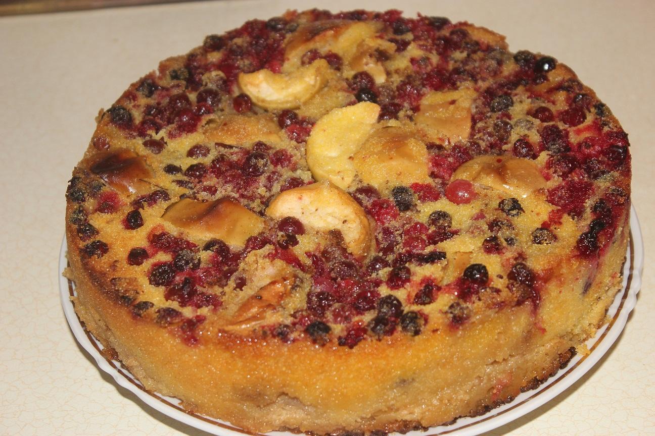 Как сделать начинку из брусники для пирога