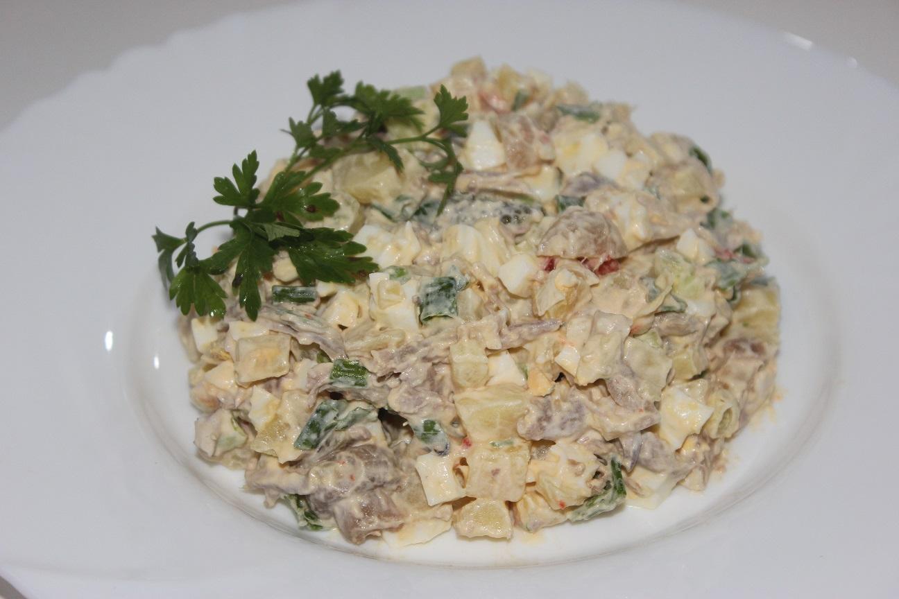 салат горец рецепт с фото
